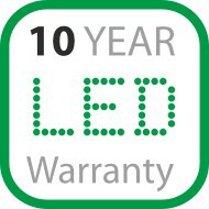 10 Year LED Warranty