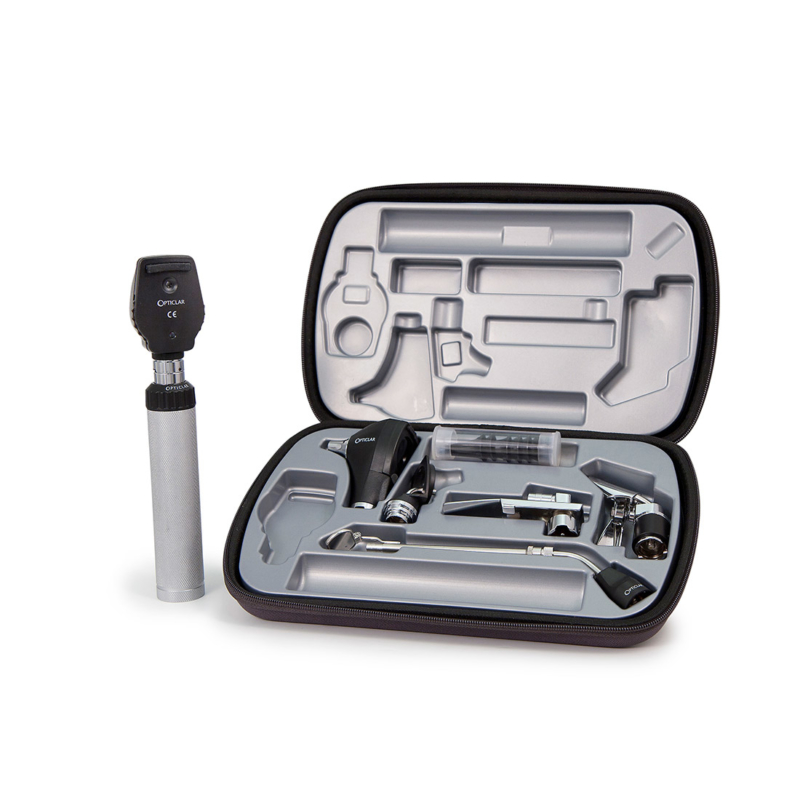 S1 Diagnostic EENT set with one metal handle