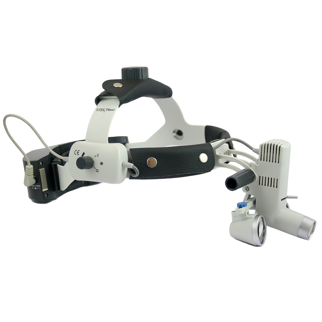 Led Wireless Headlight Headband Mounted Cell With Loupes